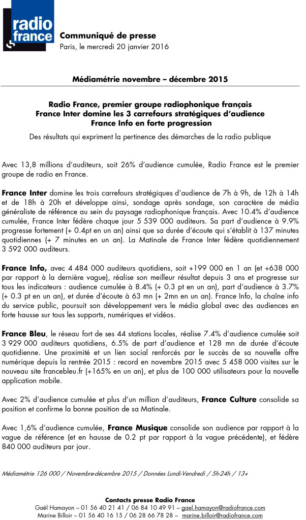 communique_radio_france_janv_2016