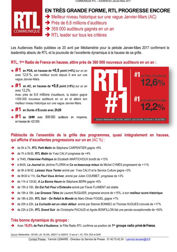 Microsoft Word - Communiqué RTL Médiamétrie - AJ2017.docx