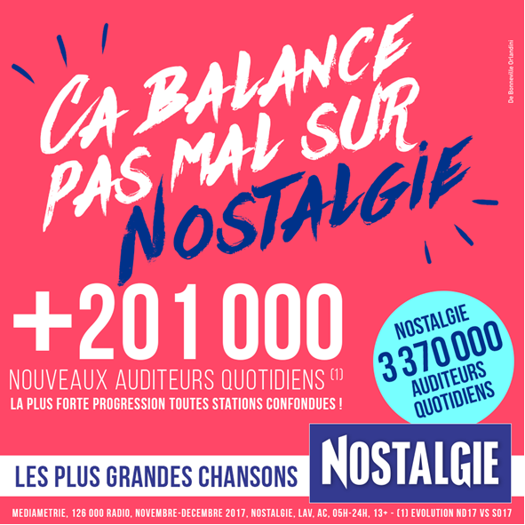 CP Nostalgie, janvier 2018